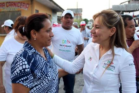Imparable Sayonara Vargas rumbo a la diputación federal