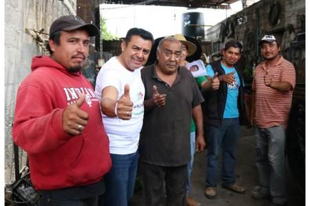 Jaime Galindo Ugalde realizó una campaña intensa y de cercanía con la población del Distrito III-2