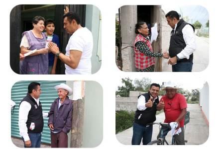 Jaime Galindo Ugalde realizó una campaña intensa y de cercanía con la población del Distrito III