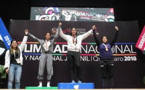 Lucha femenil cierra Olimpiada Nacional con oro y plata 2