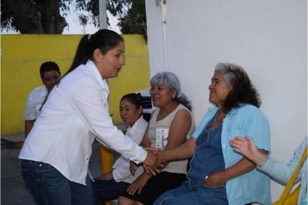 Margarita Ramos gestionará y pugnará por más inversión para mejorar la infraestructura turística de los diferentes lugares que se ubican en su distrito
