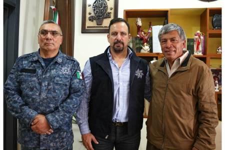 Miguel Ángel Reséndiz García fue presentado en Tizayuca como Comisario de Seguridad Pública, Tránsito y Vialidad Municipal2