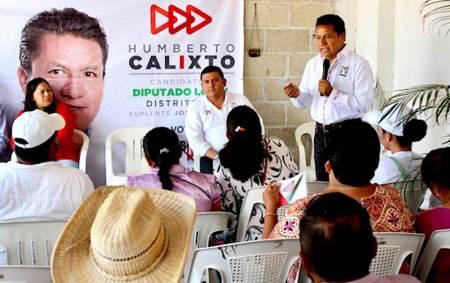 Mujeres de la colonia Morelos habrán de acceder a proyectos productivos, señala Humberto Calixto