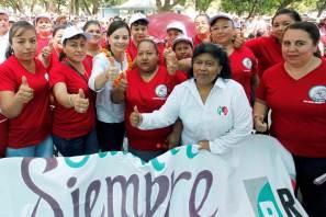 Municipios serranos y huastecos cierran filas a favor de Nuvia Mayorga