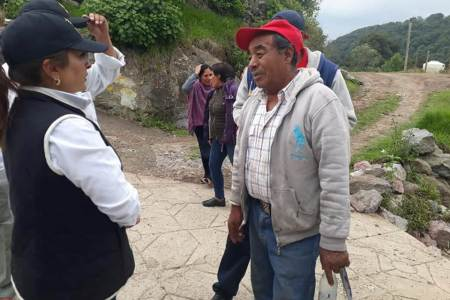 Nancy Luna Zúñiga agradece a los ciudadanos su participación en esta campaña