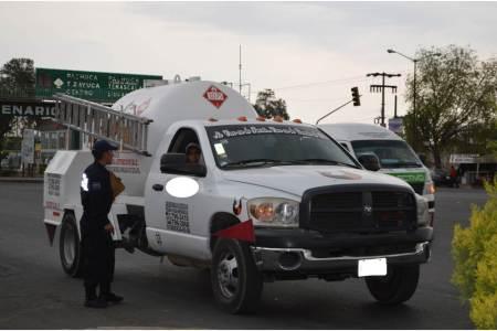 Operativo permanente de Protección Civil en Tizayuca para inspeccionar ductos, gaseras y pipas