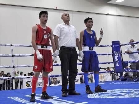 Par de bronces para Hidalgo en el boxeo de Olimpiada Nacional