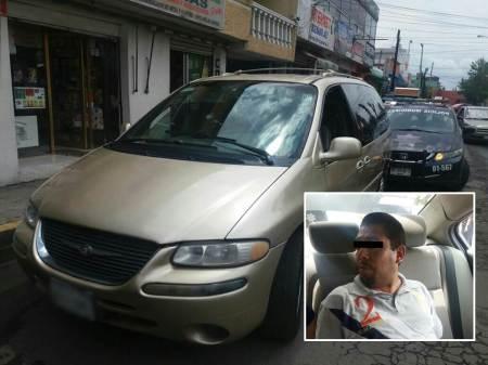 Policía Municipal de Pachuca detiene a sujeto implicado en probable robo a casa habitación