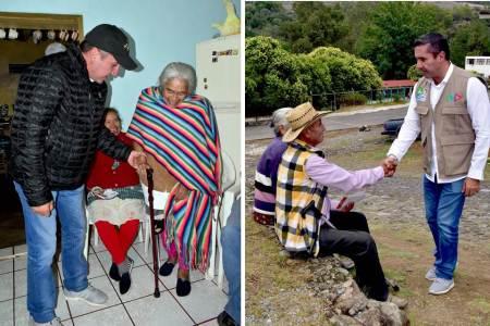 Por los adultos mayores trabajaremos por su bienestar, Fabrice Rodríguez