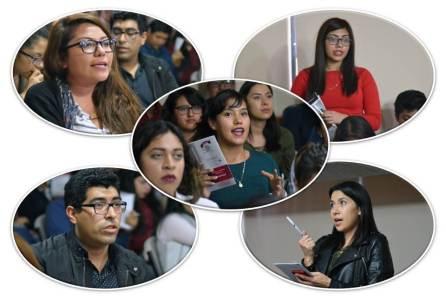 Realiza IEEH debate con estudiantes del CENHIES