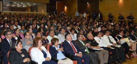 """Realizan Conversatorio """"Primer Respondiente"""", dirigido a policías de los tres niveles de gobierno"""