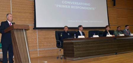 """Realizan Conversatorio """"Primer Respondiente"""", dirigido a policías de los tres niveles de gobierno2"""