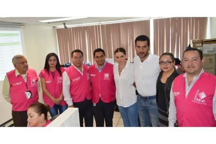 Realizan tercer simulacro del Programa de Resultados Electorales Preliminares en Hidalgo3