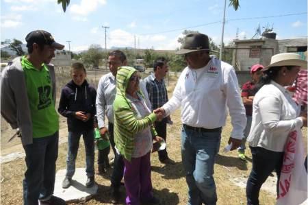 Ricardo canales refrenda su compromiso de trabajar con la ciudadanía