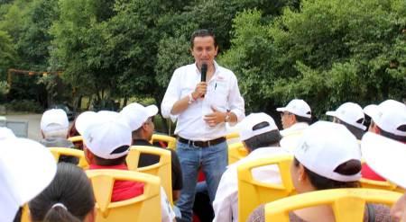Roberto Núñez visita Mineral del Chico