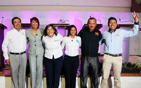 """Se realizó el """"Debate por Hidalgo"""" en el Distrito Electoral Local 15 con cabecera en Tepeji del Río"""
