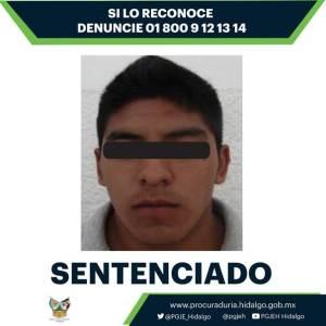 Sentenciado por su responsabilidad en la violación de una menor de edad, registrada en Santiago Tulantepec
