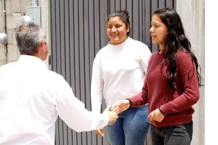 Sergio Baños recorre colonias para conocer las necesidades de la ciudadanía