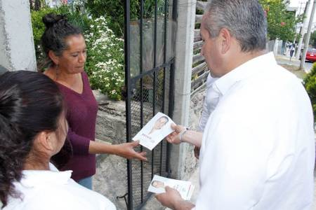 Sergio Baños recorrerá nuevamente el Distrito XIII para seguir escuchando a la gente