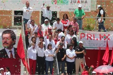 Sylvia López arranca cierres de campaña en cabecera de su distrito