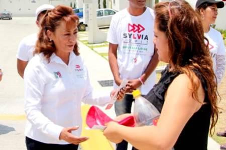 Sylvia López, construiré una agenda legislativa donde participe toda la población