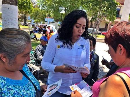 Tania Maurén Camacho se compromete a ser la voz de la gente en el Congreso local para dar mejoras y bienestar a los ciudadanos