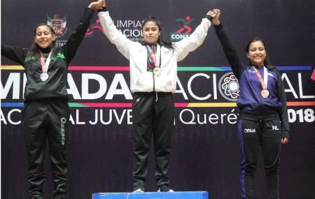 Tarde dorada para Hidalgo en Olimpiada Nacional1.jpg