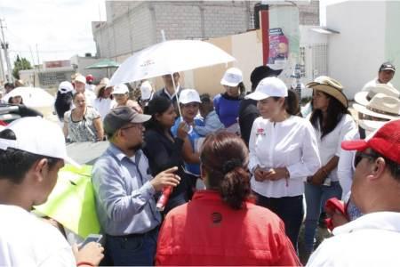 Trabajamos para resolver la problemática de los fraccionamientos de Zempoala, Mayka Ortega