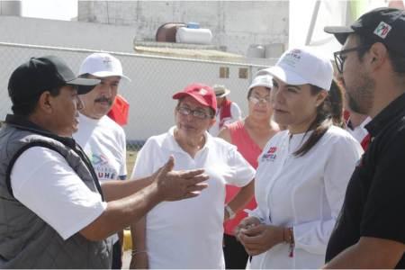 Trabajamos para resolver la problemática de los fraccionamientos de Zempoala, Mayka Ortega2