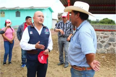 Trabajaré para regresar la gloria del campo que tuvo Tulancingo, Lorenzo Arroyo