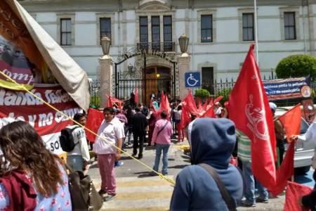 Yolanda Tellería se niega a cumplir con obras prometidas, Movimiento Antorchista2.jpg