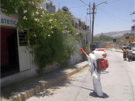 Arranca fumigación para el control del mosco cúlex en la Presa Endhó4