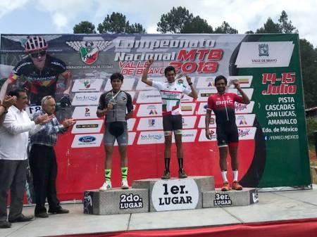 Ciclistas hidalguenses dominan la montaña2