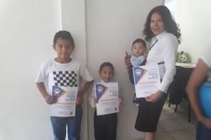 Concluye con éxito Seminario de ajedrez para niños en Mineral de la Reforma