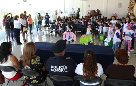 Concluye con gran éxito el Curso de Verano de la Policía Infantil de Tizayuca2