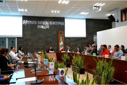CONCLUYE SESIÓN PERMANENTE DE LA JORNADA ELECTORAL DEL CONSEJO GENERAL DEL INSTITUTO ESTATAL ELECTORAL DE HIDALGO