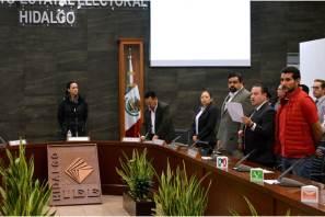 CONCLUYE SESIÓN PERMANENTE DE LA JORNADA ELECTORAL DEL CONSEJO GENERAL DEL INSTITUTO ESTATAL ELECTORAL DE HIDALGO3