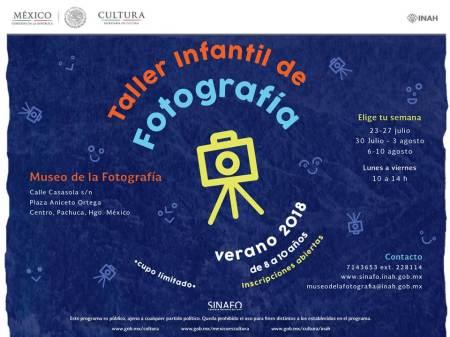 convocatoria taller de fotografia infantil 2018
