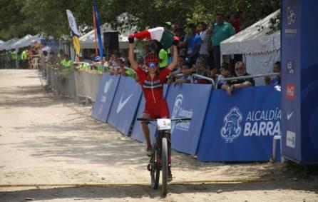 Dani Campuzano domina la montaña en Juegos Centroamericanos1