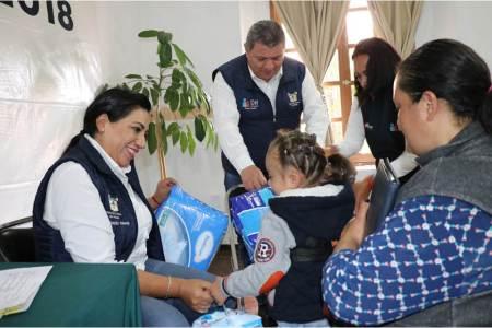 DIF Hidalgo atiende en audiencia pública más de 50 solicitudes de apoyo