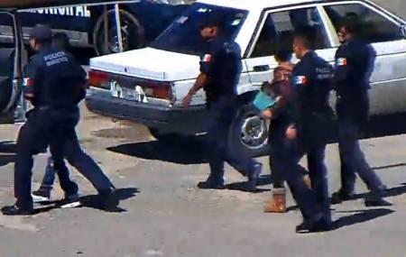 Dos detenidos con monitoreo preventivo en videovigilancia y operativo policial en Pachuca2