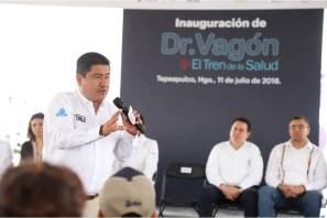 """""""Doctor Vagón el tren de la salud"""" llega a Hidalgo, se esperan más de 2 mil 500 atenciones medicas"""