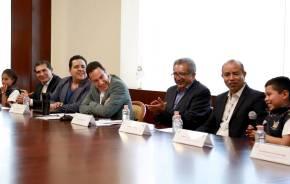 El gobernador Omar Fayad se reunió con los mejores promedios de nivel primaria en la entidad4