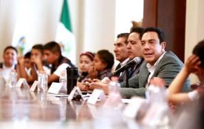 El gobernador Omar Fayad se reunió con los mejores promedios de nivel primaria en la entidad5