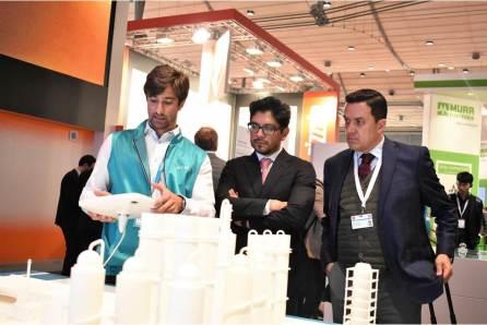 En Feria de Hannover, Alemania, pymes hidalguenses aseguran contratos con clientes internacionales por cerca de 300 MDP