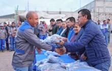 Encabeza alcalde Raúl Camacho Baños entrega de uniformes a personal de Servicios Municipales en Mineral de la Reforma3