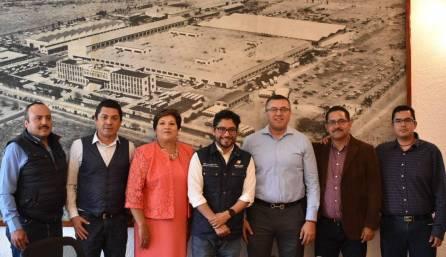 Encabeza Sedeco reunión con 5 alcaldes1