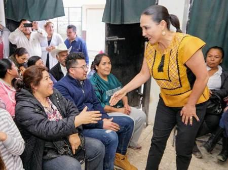 Erika Rodríguez reconoce la labor de los seccionales priistas de Tulancingo