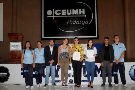 Firman convenio de colaboración INHIDE y CEUMH2