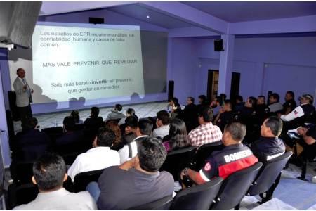 Fortalece Gobierno de Hidalgo cultura de prevención ante emergencias químicas